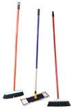 σφουγγαρίστρες τρία στοκ φωτογραφία με δικαίωμα ελεύθερης χρήσης