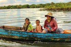 σφρίγος λιμνών της Καμπότζη Στοκ φωτογραφία με δικαίωμα ελεύθερης χρήσης