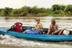 σφρίγος λιμνών της Καμπότζη Στοκ εικόνες με δικαίωμα ελεύθερης χρήσης
