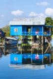σφρίγος λιμνών σπιτιών της &Kappa Στοκ εικόνα με δικαίωμα ελεύθερης χρήσης