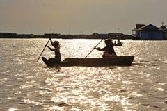 σφρίγος λιμνών της Καμπότζη& Στοκ φωτογραφία με δικαίωμα ελεύθερης χρήσης