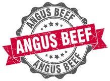 Σφραγίδα βόειου κρέατος του Angus γραμματόσημο απεικόνιση αποθεμάτων