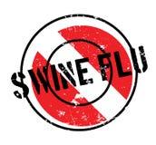 Σφραγίδα γρίπης χοίρων Στοκ φωτογραφία με δικαίωμα ελεύθερης χρήσης