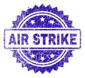 Σφραγίδα γραμματοσήμων ΑΠΕΡΓΊΑΣ AIR Grunge Στοκ Εικόνα