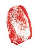 σφραγίδα δάχτυλων Στοκ φωτογραφία με δικαίωμα ελεύθερης χρήσης