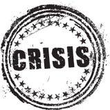 Σφραγίδα με την κρίση κειμένων Στοκ Εικόνες