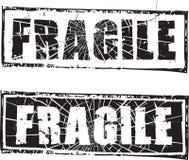 Σφραγίδα με το κείμενο εύθραυστο Στοκ εικόνες με δικαίωμα ελεύθερης χρήσης