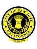 Σφραγίδα της ΑΜΕΡΙΚΑΝΙΚΗΣ πόλης του San Jose, Καλιφόρνια διανυσματική απεικόνιση