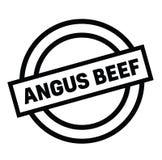 Σφραγίδα του Angus Beef απεικόνιση αποθεμάτων