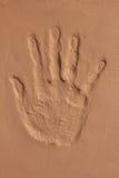 Σφραγίδα χεριών Στοκ Φωτογραφίες