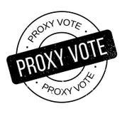 Σφραγίδα ψηφοφορίας πληρεξούσιου ελεύθερη απεικόνιση δικαιώματος