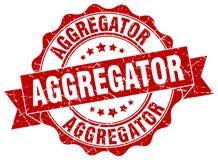 σφραγίδα aggregator γραμματόσημο Ελεύθερη απεικόνιση δικαιώματος