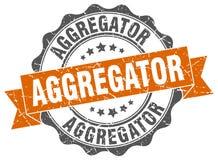 σφραγίδα aggregator γραμματόσημο Απεικόνιση αποθεμάτων