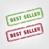 Σφραγίδες καλύτερων πωλητών διανυσματική απεικόνιση