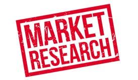 Σφραγίδα έρευνας αγοράς διανυσματική απεικόνιση