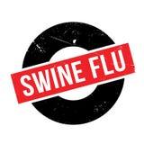 Σφραγίδα γρίπης χοίρων Στοκ εικόνες με δικαίωμα ελεύθερης χρήσης