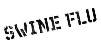Σφραγίδα γρίπης χοίρων Στοκ εικόνα με δικαίωμα ελεύθερης χρήσης