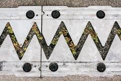 Σφραγίδα ενώσεων επέκτασης Στοκ φωτογραφία με δικαίωμα ελεύθερης χρήσης