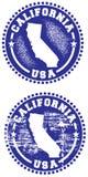σφραγίδα ΗΠΑ Καλιφόρνιας Στοκ Εικόνες