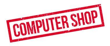 Σφραγίδα καταστημάτων υπολογιστών Στοκ εικόνες με δικαίωμα ελεύθερης χρήσης