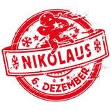 Σφραγίδα με το Nicholas διανυσματική απεικόνιση