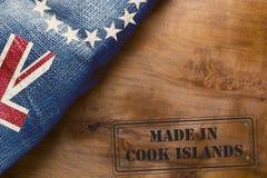 Σφραγίδα που κατασκευάζεται βιομηχανική στις νήσους Κουκ Στοκ φωτογραφία με δικαίωμα ελεύθερης χρήσης