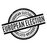 Σφραγίδα της ευρωπαϊκής εκλογής Στοκ φωτογραφία με δικαίωμα ελεύθερης χρήσης