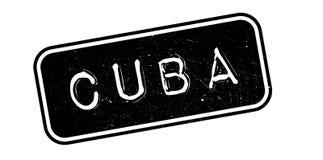 Σφραγίδα της Κούβας ελεύθερη απεικόνιση δικαιώματος