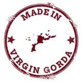 Σφραγίδα της Virgin Gorda ελεύθερη απεικόνιση δικαιώματος