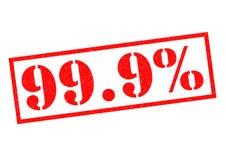 99 9 σφραγίδα ΤΟΙΣ ΕΚΑΤΟ απεικόνιση αποθεμάτων