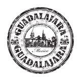 Σφραγίδα του Γουαδαλαχάρα grunge Στοκ Φωτογραφίες