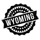 Σφραγίδα του Ουαϊόμινγκ ελεύθερη απεικόνιση δικαιώματος