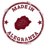 Σφραγίδα Alegranza διανυσματική απεικόνιση