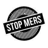 Σφραγίδα Mers στάσεων Στοκ εικόνα με δικαίωμα ελεύθερης χρήσης