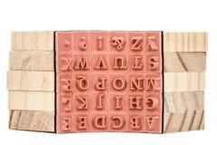 Σφραγίδες αγγλικός ο αλφαβητικός, απομονωμένος στο άσπρο backgr στοκ εικόνες