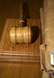 σφυρί δικαστηρίων Στοκ φωτογραφίες με δικαίωμα ελεύθερης χρήσης