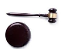 Σφυρί δικαστών Στοκ εικόνα με δικαίωμα ελεύθερης χρήσης