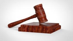Σφυρί δικαστών Απεικόνιση αποθεμάτων