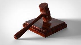 Σφυρί δικαστών Διανυσματική απεικόνιση