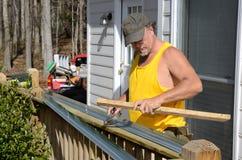 σφυρηλάτηση ξυλουργών Στοκ Φωτογραφίες