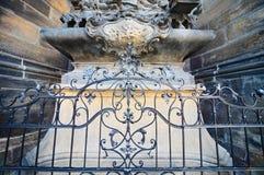 σφυρηλατημένος σίδηρος &del Στοκ Εικόνες
