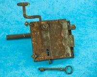 Σφυρηλατημένη κλειδαριά Στοκ φωτογραφία με δικαίωμα ελεύθερης χρήσης