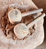 σφύρα ξύλινη Στοκ Εικόνες