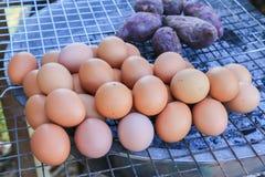 σχάρα αυγών Στοκ φωτογραφίες με δικαίωμα ελεύθερης χρήσης