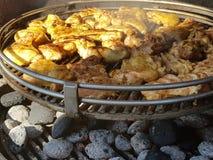 Σχάρα κοτόπουλου Στοκ εικόνες με δικαίωμα ελεύθερης χρήσης