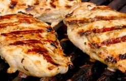 σχάρα κοτόπουλου Στοκ φωτογραφίες με δικαίωμα ελεύθερης χρήσης
