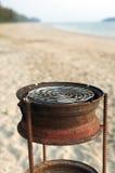 σχάρα παραλιών σχαρών τροπι&k στοκ φωτογραφία με δικαίωμα ελεύθερης χρήσης