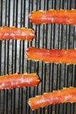 Σχάρα ποδιών καβουριών βασιλιάδων Στοκ εικόνες με δικαίωμα ελεύθερης χρήσης
