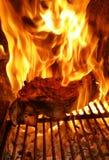 Σχάρα πλευρών χοιρινού κρέατος Στοκ φωτογραφία με δικαίωμα ελεύθερης χρήσης