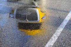 Σχάρα της αντανάκλασης φορτηγών Στοκ Εικόνα